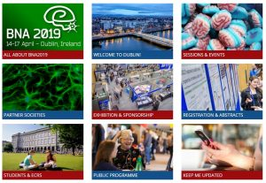 BNA2019: Launch of conference website