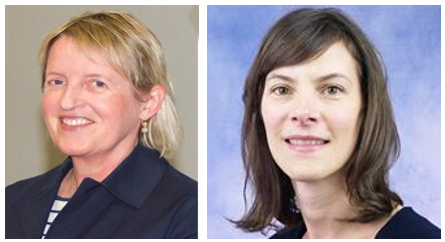 Dr Cora O'Neil and Dr Claire McCoy – the newest members of NSI Council