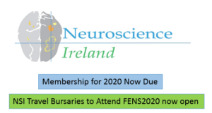 NSI membership now due + NSI Travel Bursaries for FENS2020